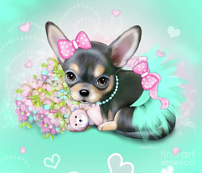 Chichi Sweetie Art Print