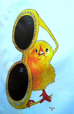 Painting - Chick Hollywood by Roberto Prusso