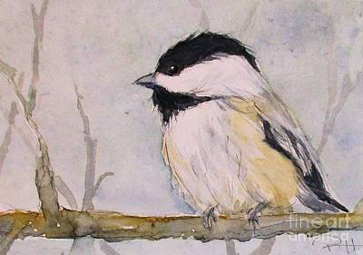 Painting - Chickadee Dee Dee by Patricia Henderson