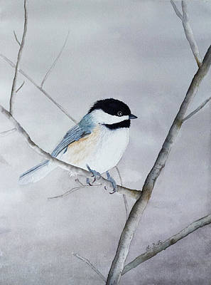 Painting - Chickadee II by Laurel Best