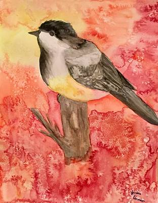 My Art Painting - Chickadee  by My Art