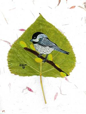 Painting - Chickadee by Ralph Root