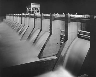 Chickamauga Dam, Built By The Tennessee Art Print by Everett
