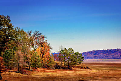 Photograph - Chickasaw Hill At Winter Pool by Barry Jones