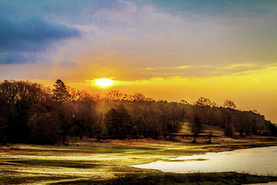 Photograph - Chickasaw Sunrise by Barry Jones