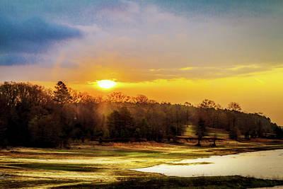 Photograph - Chickasaw Sunrise by Barry Jones