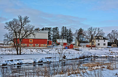 Photograph - Chickasaw Winter by Bonfire Photography