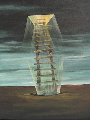 Chickasaw's Ladder Art Print by K Hoover