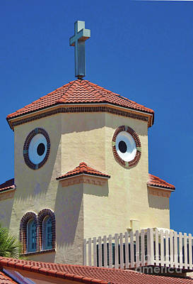 Photograph - Chicken Church by Larry Mulvehill