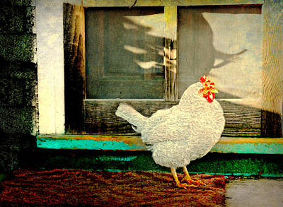 Photograph - Chicken Coop by Diana Angstadt