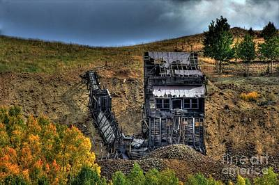 Photograph - Chicken Hawk Mine by Tony Baca