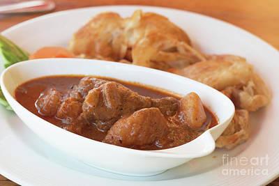 Chicken Massaman Curry Art Print