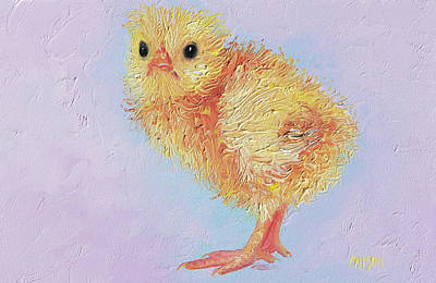 Painting - Chicken Painting by Jan Matson