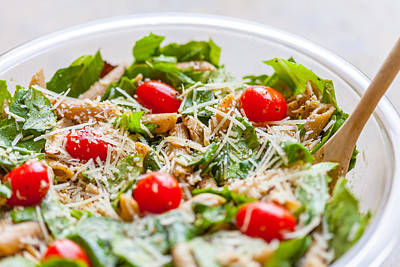 Photograph - Chicken Pasta Salad by Melinda Fawver