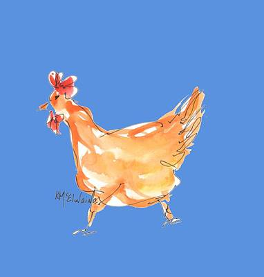 Painting - Chicken Scratch 5 by Kathleen McElwaine