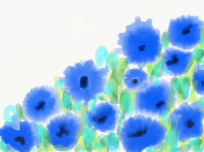 Digital Art - Chicory by Cristina Stefan