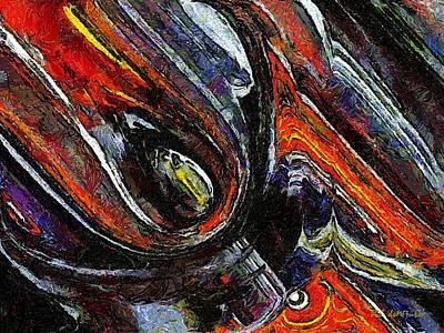 Yucatan Painting - Chicxulub by RC DeWinter