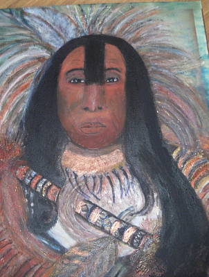Painting - Chief by Anne-elizabeth Whiteway