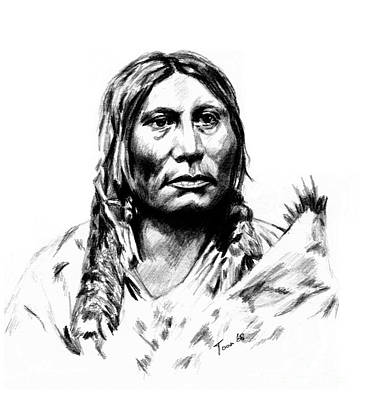 Chief Gall Art Print