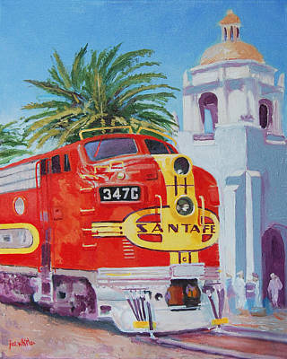 Painting - Chief In San Diego by Joe White