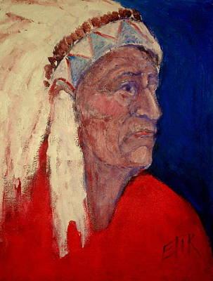 Painting - Chief by Johanna Elik