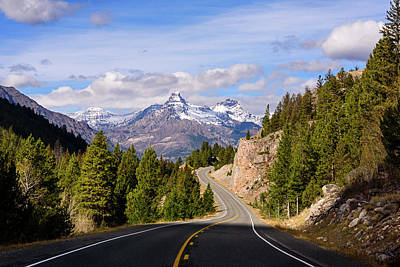 Photograph - Chief Joseph Scenic Highway by John Gilbert