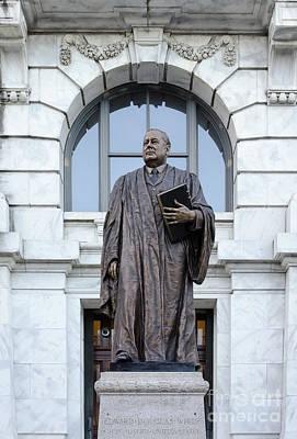 Photograph - Chief Justice Edward Douglas White Statue- Nola by Kathleen K Parker