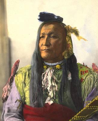 Chief Mountain, Blackfeet Art Print