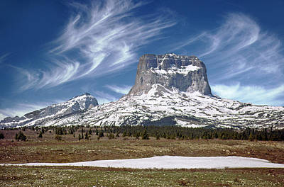 Photograph - Chief Mountain by Rod Jones