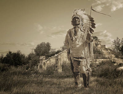 Digital Art - Chief by Rick Mosher