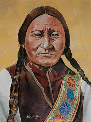 Chief Sitting Bull Original by Bill Dunkley