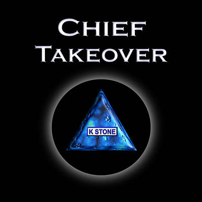 Wall Art - Digital Art - Chief Takeover by K STONE UK Music Producer