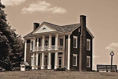 Photograph - Chief Vann's House by Tara Potts
