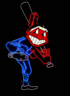 Sports Royalty-Free and Rights-Managed Images - Chief Wahoo by Stewart Helberg