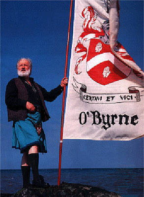 Photograph - Chieftain Clan O'byrne by Val Byrne