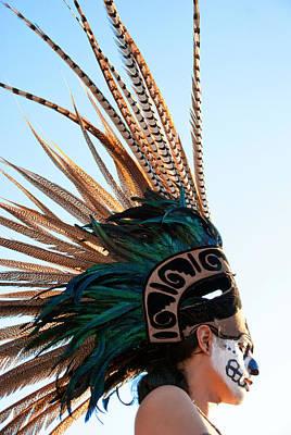 Dia De Los Muertos Photograph - Chieftain by Graphics Metropolis
