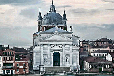 The Grand Place Photograph - Chiesa Del Redentore Venice by Tom Prendergast