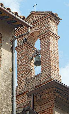 Photograph - Chiesa Di San Carlo Bell Tower Paciano by Dorothy Berry-Lound