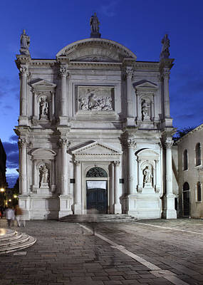 Photograph - Chiesa Di Sao Rocco In Venice by Paul Cowan