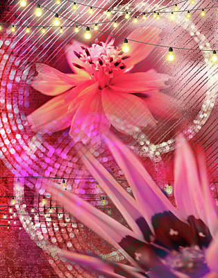 Digital Art - Chiffon Night by Linda Carruth