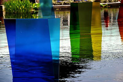 Photograph - Chihuly 7 by Jacqueline M Lewis