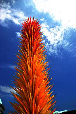 Photograph - Chihuly 8  by Jacqueline M Lewis
