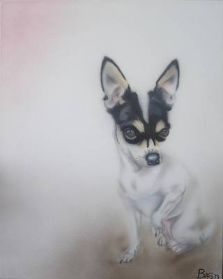 Painting - Chihuahua by Bas Hollander