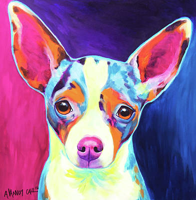Chihuahua - Brady Art Print by Alicia VanNoy Call
