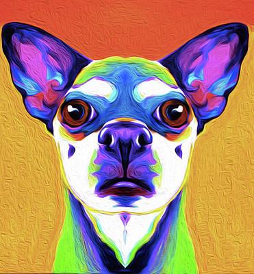 Chihuahua By Nixo Art Print