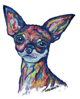 Painting - Chihuahua by Carol Tsiatsios