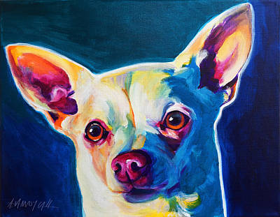 Chihuahua - Coco Art Print by Alicia VanNoy Call