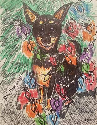 Have A Cupcake - Chihuahua by Geraldine Myszenski