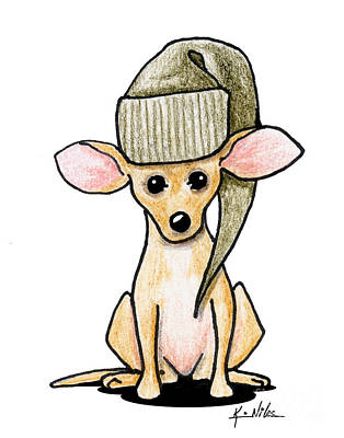 Chihuahua Drawing - Chihuahua by Kim Niles