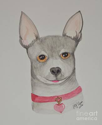 Painting - Chihuahua Love by Maria Urso